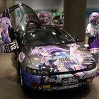 TVアニメ「ネプテューヌ」、ファン向けの痛車制作キャンペーンを実施! 製作委員会監修で「公認ロゴ」を進呈