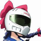 女子高バイク青春アニメ「ばくおん!!」、ヘルメットは「Arai」「SHOEI」に続いて「SIMPSON」も実名で登場!