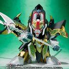 「新SDガンダム外伝『ナイトガンダム物語』」から、ゼロガンダムと一体化することで「覚醒」した「SDX 龍機ドラグーン」が登場!