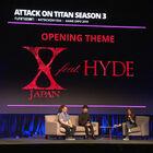 TVアニメ「進撃の巨人」Season 3のオープニングテーマがX JAPAN feat. HYDEに決定!