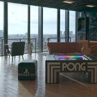 ATARIの名作ゲーム「PONG」搭載テーブル「TABLE PONG」、IDC OTSUKA 新宿ショールームにて先行独占販売中!