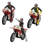 「SHODO-X」シリーズ第3弾は新1号、新2号、ショッカーライダーが登場! バイクは新サイクロン号とにせ新サイクロン号!!