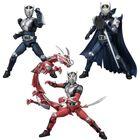 「SHODO-X」シリーズ第4弾は「仮面ライダー龍騎」シリーズから龍騎とブランク体、ナイト、さらにドラグレッダーも!!