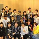 TVアニメ「ダイヤのA actII」アフレコ現場より、キャスト集合写真が到着&見逃し配信がスタート!