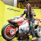 「サイバーパンク2077」、ジョニー・シルヴァーハンド役のキアヌ・リーブスがサプライズ来場!【TGS2019】