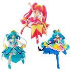 「スター☆トゥインクルプリキュア」よりキュアスター、キュアミルキー、キュアコスモのトゥインクルスタイルの「キューティーフィギュア」が登場!