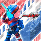 「デフォリアル」仮面ライダーシリーズに「仮面ライダービルド」よりビルド ラビットタンクフォームが登場!