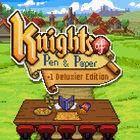 テーブルトークRPGをテーマとしたレトロ風RPG「ナイツ オブ ペン アンド ペーパー」、Switchで11/21に配信開始!