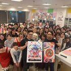 アニメ映画「プロメア」、ABC Cooking Studioとのコラボで、コヤマシゲトと若林広海が劇中ピザを完全再現!!