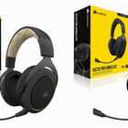 CORSAIR、ワイヤレスゲーミングヘッドセット「HS70 PRO WIRELESS」発売。2.4GHz帯の電波を使いクリアな音質を実現