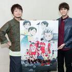 OVA「ハイキュー!! 陸 VS 空」、興津和幸、石井マークが登壇の先行上映会イベントレポート到着!