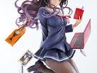 「冴えない彼女の育てかた♭」より「霞ヶ丘詩羽」がアニメ1期DVD4巻のビジュアルを元にした大胆なレイアウトで立体化!