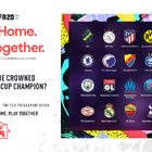 サッカーゲーム「FIFA 20」にて、20名のプロサッカー選手が参加するオンラインイベント「Stay and Play Cup」が4月16日より開催!