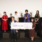 劇場版「Fate/stay night [Heaven's Feel]」III.spring song、初日舞台挨拶特別興行ライブビューイングレポート到着!!