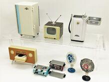 高度成長期の日本を支えた家電製品が、ちっちゃくなって蘇る!「エフトイズ レトロニクス」で遊んでみた!【イチオシ!食玩道 第17回】
