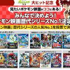 「ポケモン映画歴代シリーズNo.1 決定戦」がスタート! 各シリーズ1位の作品を2月7日(日)に配信