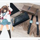 「涼宮ハルヒ」シリーズ、ハルヒ&長門モデルの財布や腕時計が登場! 7月26日(月)12時まで予約受付!
