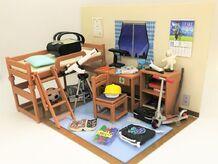 男子の部屋は夢いっぱいで物いっぱい! リーメント 「ぷちサンプルシリーズ あの日、あの時、ぼくの部屋!」で遊んでみた!【食玩道 第26回】