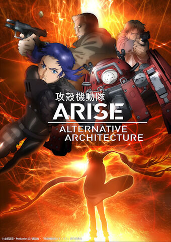 攻殻機動隊ARISE ALTERNATIVE ARCHITECTURE