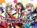 Poppin' Party オリジナル楽曲ランキング